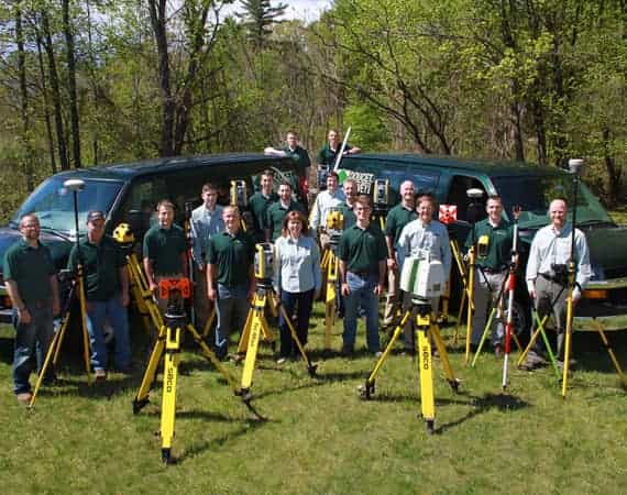 Doucet Survey team