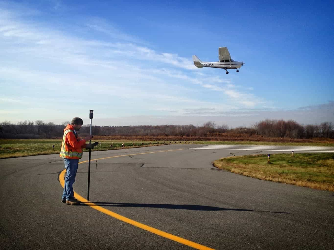 Airfield surveying